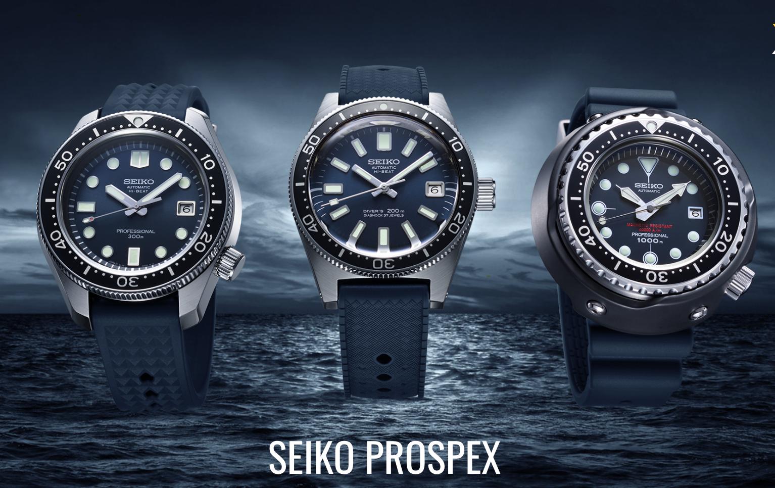 Часы для дайверов SEIKO Prospex